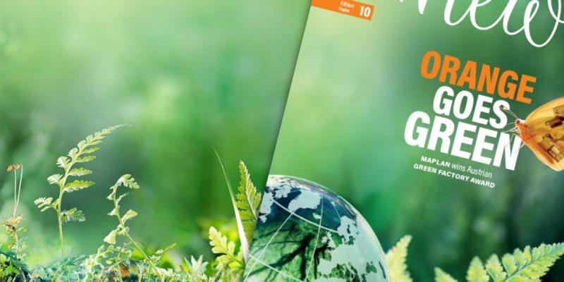 Maplan Newsletter Online Green Montage